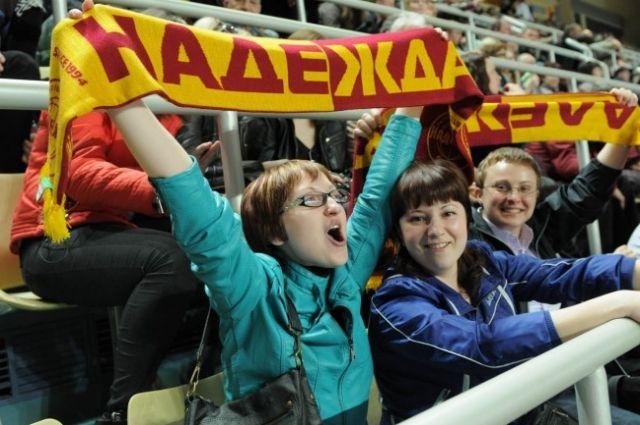 Оренбургская «Надежда» борется за «бронзу» чемпионата России
