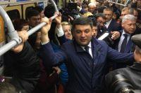 Владимир Гройсман посетил харьковское метро