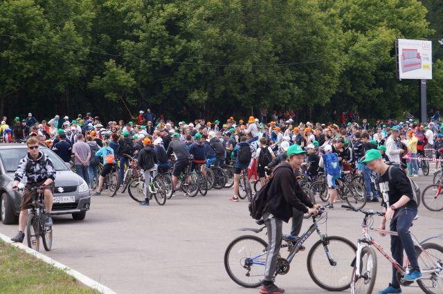 Туляков приглашают принять участие впраздничном велопараде