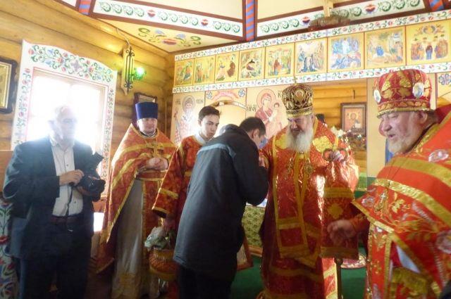 Освящение храма прошло 19 апреля.