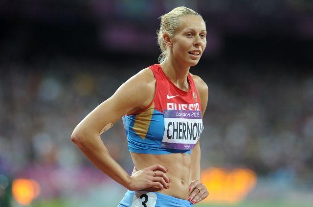 МОК отыскал следы допинга впробах легкоатлетки Черновой сОлимпиады