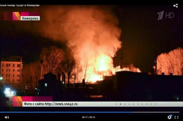 В Кемерове ликвидирован пожар на складе пивзавода.