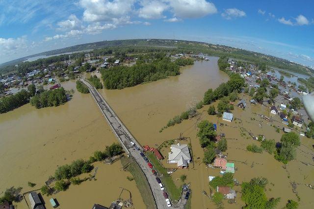Перечень населенных пунктов попавших под затопление в алтайском крае
