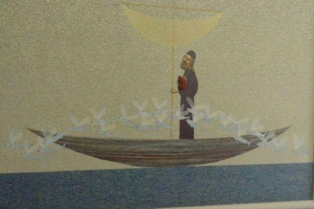 Экспонат выставки в честь 220-летия Святителя Иннокентия.