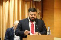 Иван Кононенко выступил перед депутатами с ежегодным докладом.