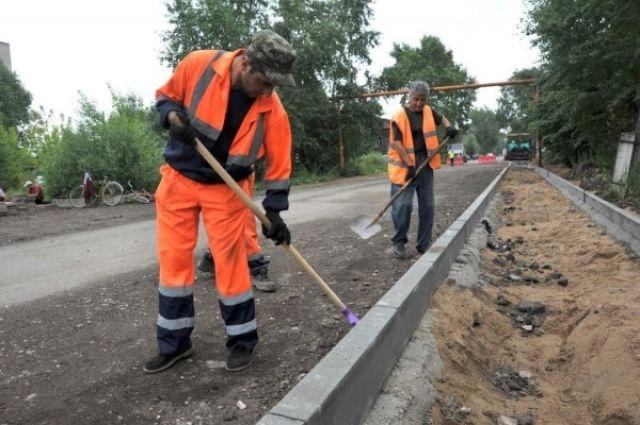 ВКрасноярске начались дорожные работы врамках большой ремонтной кампании