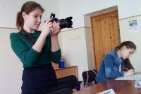 Журналист всегда готов к работе.