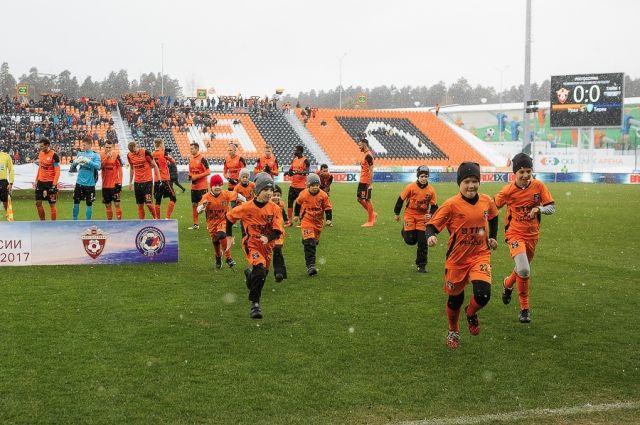 Молодые футболисты отправятся вСочи, чтобы поддержать боевой дух «Урала»