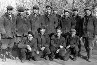 После войны на мельзаводе «Победа» работало много женщин, но были и мужчины, вернувшиеся с фронта.