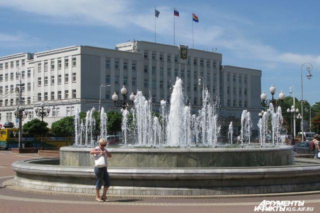 1 мая в Калининграде включат все 12 фонтанов.