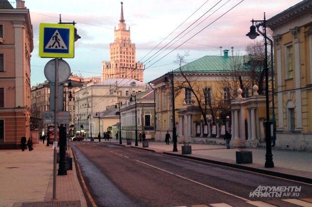 Сколько времени займёт благоустройство улиц в Москве?
