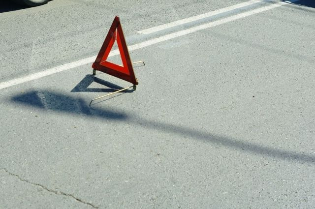Авария произошла в центре Омска.