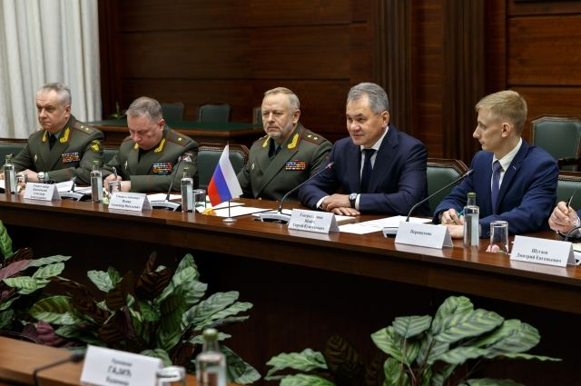 Шойгу объявил осотрудничестве РФ иСербии ввоенной сфере