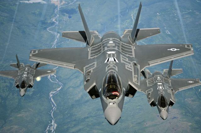 В Эстонию прибыли американские истребители F-35A Lightning II