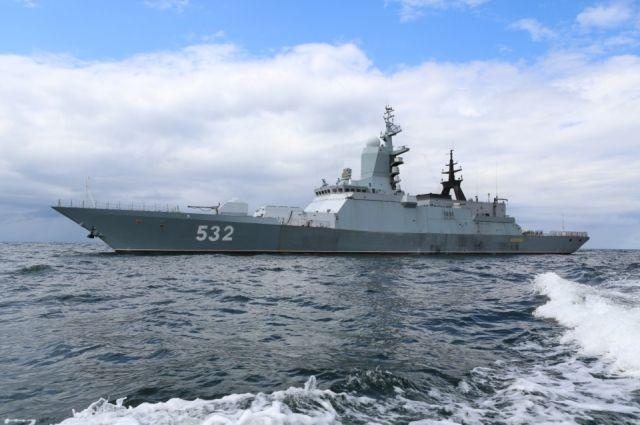 Лучшим кораблем Балтийского флота назван корвет «Бойкий».