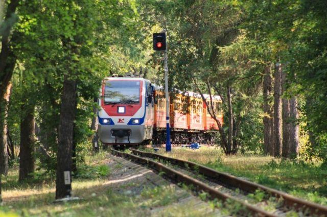 1июня состоится праздничное открытие детской железной дороги вОренбурге