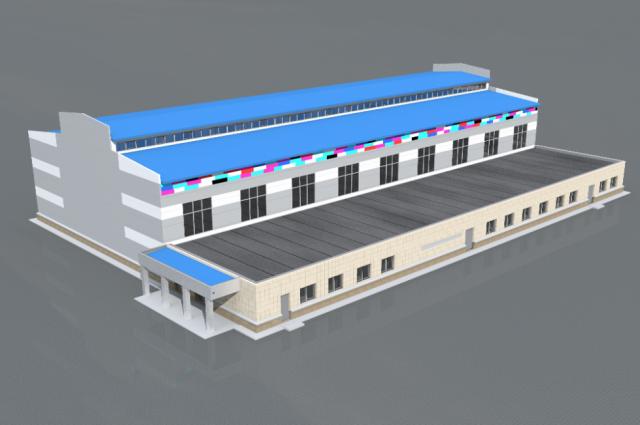 Таким увидят  спортивный комплекс «Металлург» карабашцы и гости города уже через несколько месяцев.