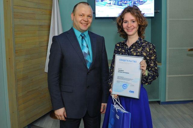 Лилия Панова - дважды степендиат ОНПЗ.