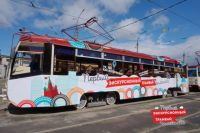 Выпускной в трамвае для Челябинска пока в диковинку.