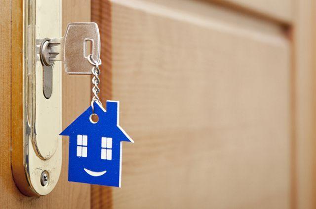 Приятно получить ключи от своего нового дома