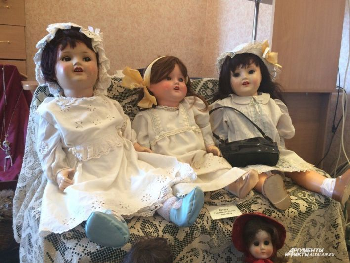 Германские куклы похожи на живых детей.