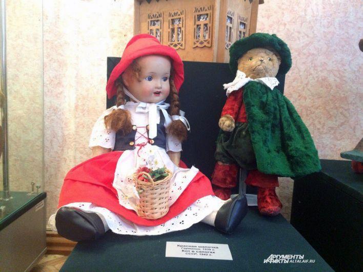 Куклы военных лет.