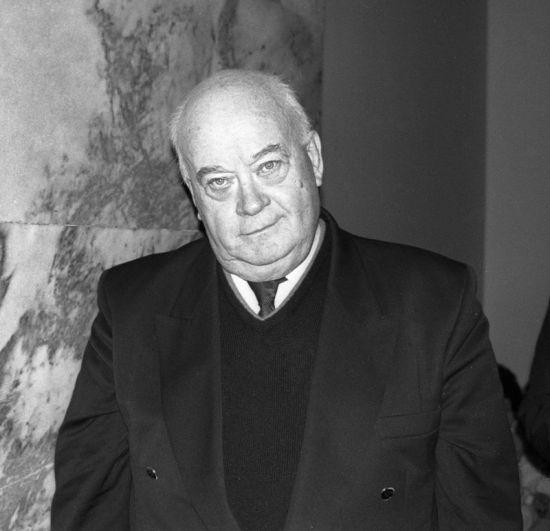 Актёр Евгений Моргунов в 1996 году.