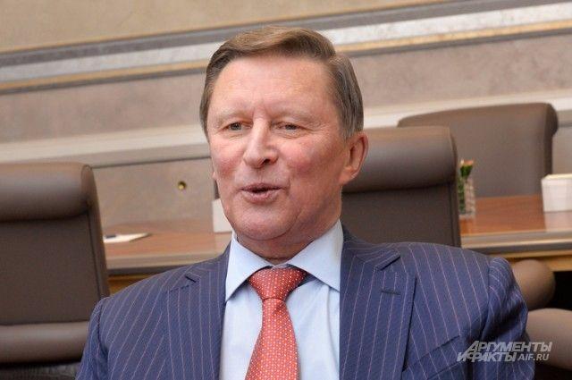 Иванов рассказал, как Путин пошутил про российские дрова для ФРГ