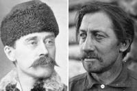 Роберт Пири и Фредерик Кук.