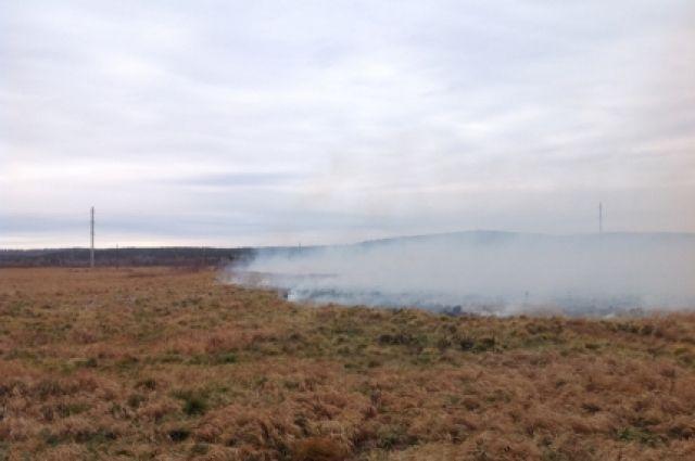 В Кузбассе сохраняется высокая пожароопасность.
