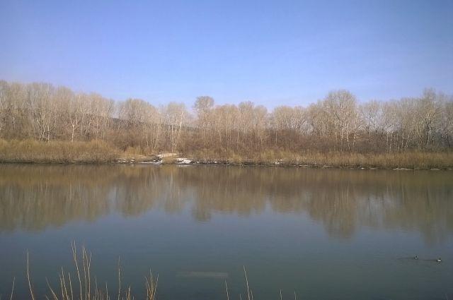 Уровень воды в кузбасских реках медленно растет.