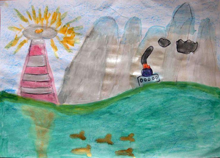 Участник №38 Катя Зорина, 7 лет.