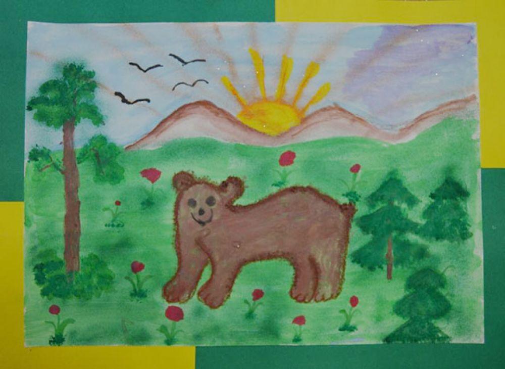 Участник №36 Ксюша Абакумова, 6 лет.