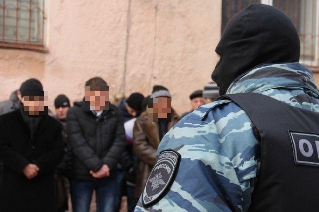 12 членов террористической группировки задержали в центре Калининграда.