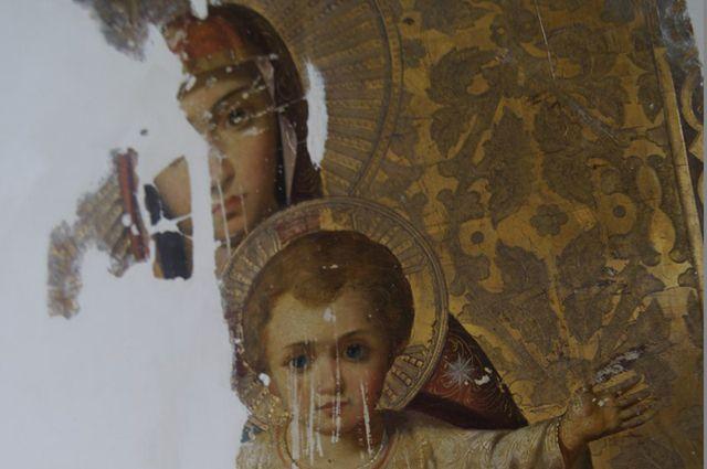 Редкую икону карельского святого отыскали начердаке вФинляндии