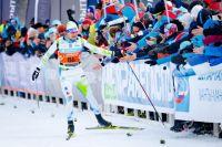 Сергей Устюгов приехал первым в Югорском лыжном марафоне.