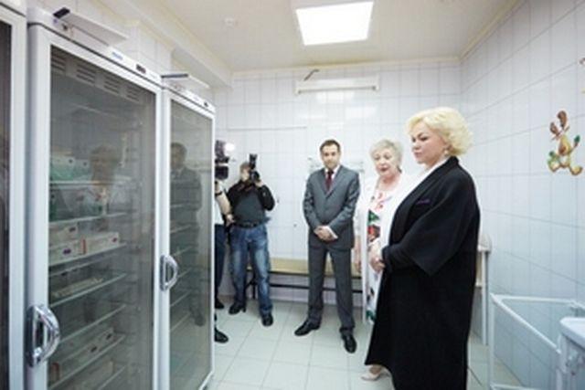 Рязанскую область срабочей поездкой посетила заместитель Министра здравоохраненияРФ Татьяна Яковлева