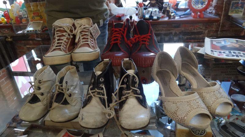 Популярная в СССР обувь.