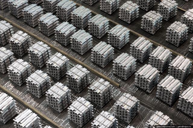 На сибирские компании пришлось 94% от общего объема выпуска алюминия.