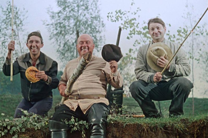 Всенародную популярность Моргунову принесла роль Бывалого в кинокомедиях Леонида Гайдая 1960-х годов: «Пёс Барбос и необычный кросс» (1961),