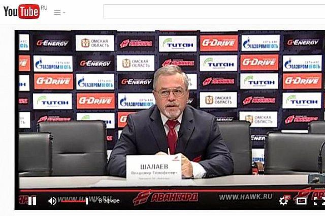 Владимир Шалаев часто общается с прессой.