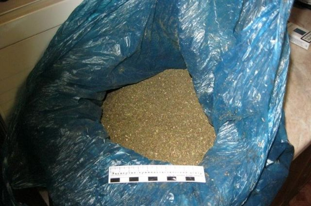 ВЧердаклах полицейские задержали мужчину, разгуливающего спакетом марихуаны