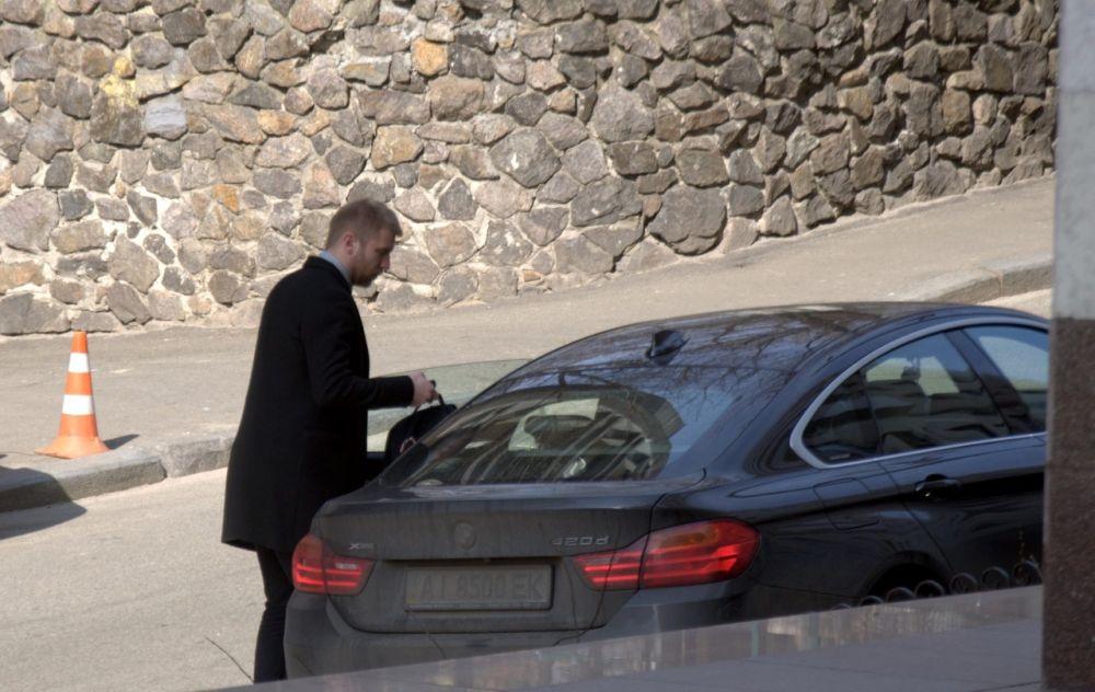 Иван Дорн ездит на BMW