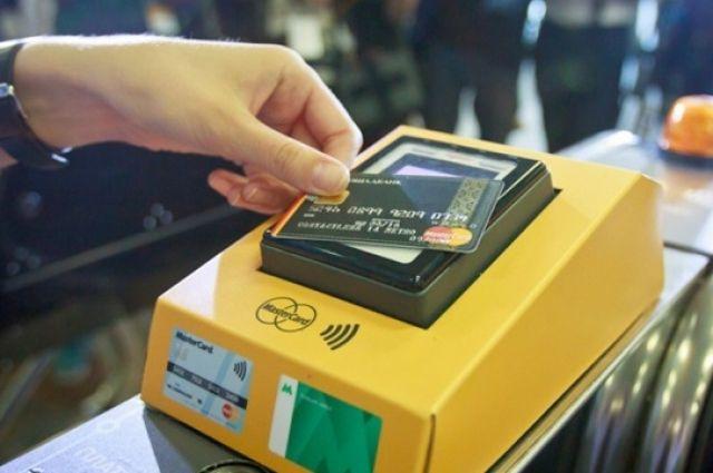 Вкиевском метро разрешили использовать банковские карты вкачестве проездных