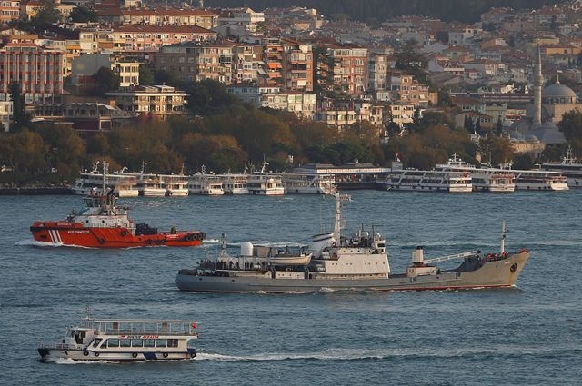 Что за корабль-разведчик ВМФ России «Лиман» затонул уберегов Турции?