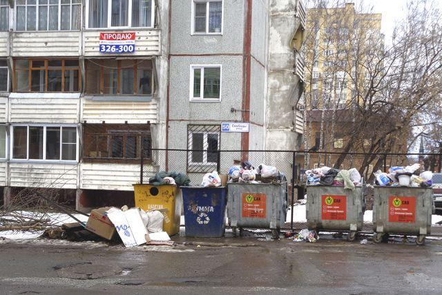 Выездной пункт по приёму второсырья ждёт тюменцев с сортированным мусором