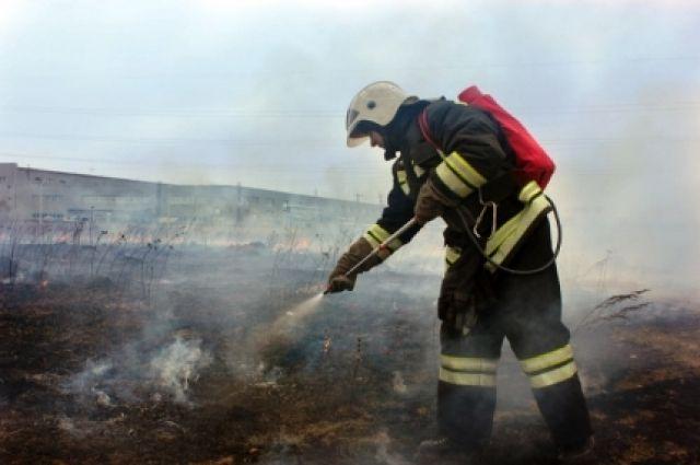 В Исетском районе во время тушения пожара найдено тело мужчины