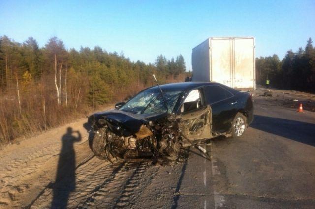 Водитель «Тойоты» с травмами доставлена в больницу.