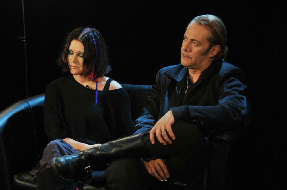 Линда с мужем, музыкантом Стефаносом Корколисом, 2012 год. Пара рассталась в 2014-м.