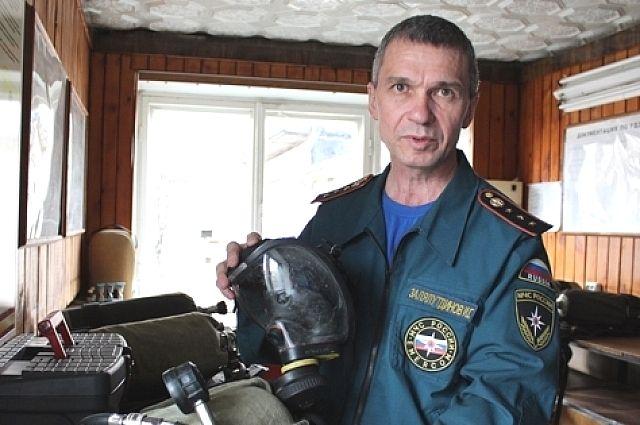 Ильгизар Залялутдинов дважды становился лучшим пожарным страны. И это в 52 года!